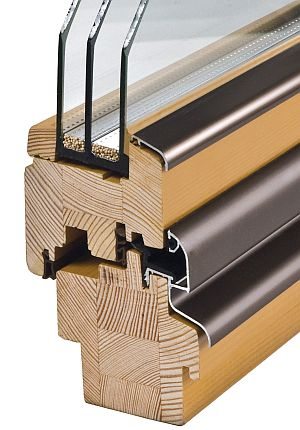 Holzfenster Soft Line 78