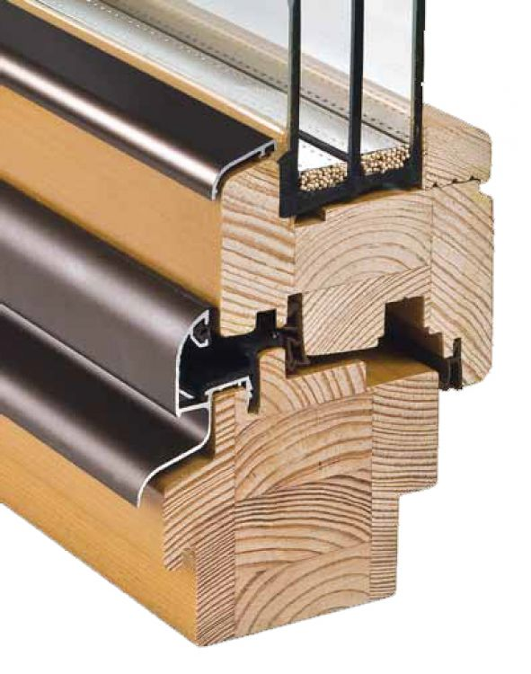 Holzfenster Soft-Line