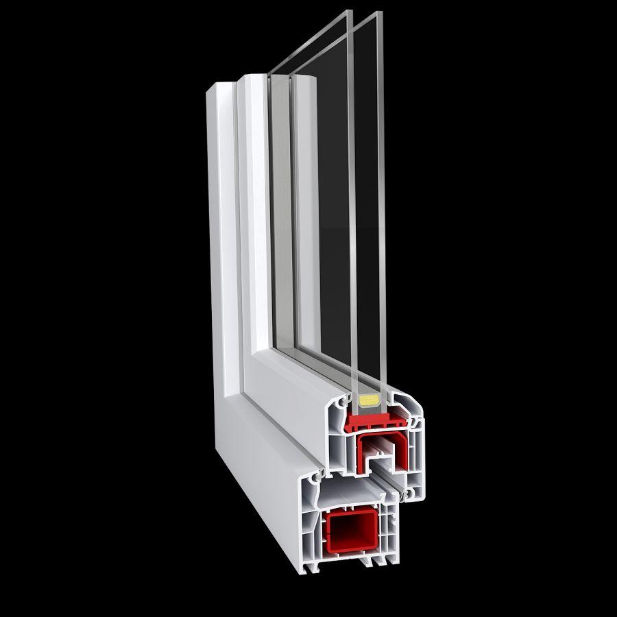 Fensterkonfigurator aluplast  Kunststofffenster Ideal 4000 001 - Fenster online bestellen ...